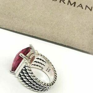 David Yurman Jewelry - David Yurman Pink Tourmaline 16x12mm Wheaton Ring